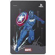 Seagate PS4 Game Drive 2TB Marvel Avengers Limited Edition - Captain America - Externí disk