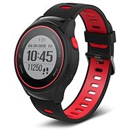 Forever SW-600 černá a červená - Chytré hodinky