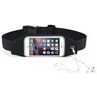 "Forever Pouzdro na telefon typu ledvinka 6.2"" černé - Pouzdro na mobil"
