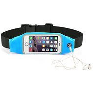 "Forever Pouzdro na telefon typu ledvinka 6.2"" modré - Pouzdro na mobil"