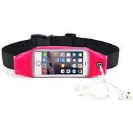 """Forever Pouzdro na telefon typu ledvinka 6.2"""" růžové - Pouzdro na mobil"""