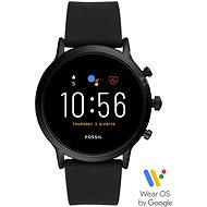Fossil Gen5 Carlyle HR - Černý silikon - Chytré hodinky