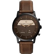 Fossil FTW7008 Hybrid HR Collider 42mm - Brown Leather
