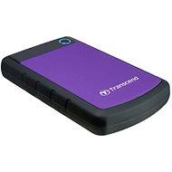 Transcend StoreJet 25H3B SLIM 4TB černo/fialový - Externí disk