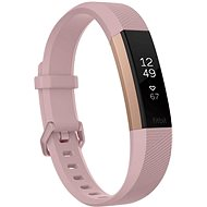 Fitbit Alta HR Pink Rose Gold Large - Fitness náramek
