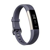 Fitbit Alta HR Blue Gray Large - Fitness náramek