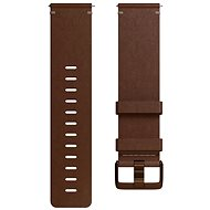Fitbit Versa Accessory Band, Leather, Cognac, Large - Řemínek
