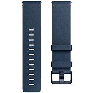 Fitbit Versa Accessory Band, Leather, Midnight Blue, Large - Řemínek