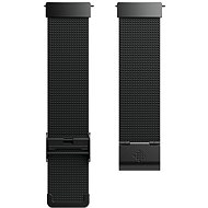 Fitbit Versa Accessory Band, Metal Mesh, Black Stainless Steel, Standard - Řemínek