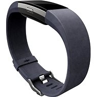 Fitbit Charge 2 Band Leather Indigo Large - Řemínek