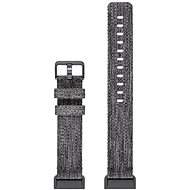 Fitbit Charge 3 Accessory Band Woven Charcoal Large - Řemínek