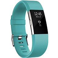 Fitbit Charge 2 Small Teal Silver - Fitness náramek