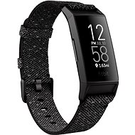 Fitbit Charge 4 Special Edition (NFC) - Granite Reflective Woven/Black - Fitness náramek