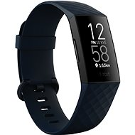 Fitbit Charge 4 (NFC) - Storm Blue/Black - Fitness náramek