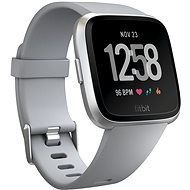 Fitbit Versa - Gray / Silver Aluminum - Chytré hodinky