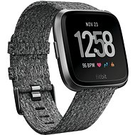 Fitbit Versa - Charcoal Woven - Smartwatch