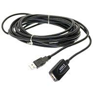 PremiumCord USB 2.0 repeater 5m prodlužovací - Datový kabel