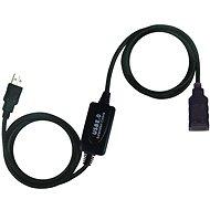 Datový kabel PremiumCord USB 2.0 repeater 10m prodlužovací - Datový kabel