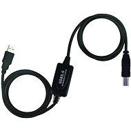 Datový kabel PremiumCord USB 2.0 repeater 10m propojovací - Datový kabel