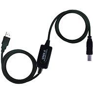 PremiumCord USB 2.0 repeater 20m propojovací - Datový kabel