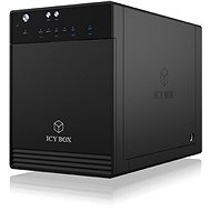 ICY BOX IB-3740-C31, Black - Data Storage Device