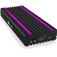 ICY BOX IB-1824ML-C31 USB Type-C Enclosure for M.2 NVMe SSD – RGB - Externí box