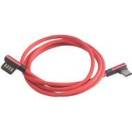 AKASA USB typ A na typ C nabíjecí a synchronizační kabel / AK-CBUB40-10RD - Datový kabel
