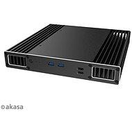 AKASA Plato PX hliníková skříňka pro 8. Gen Intel® NUC (Provo Canyon) / A-NUC51-M1B - Počítačová skříň