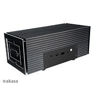 AKASA Turing FX hliníková skříňka pro 10. Gen Intel NUC (Frost Canyon) / A-NUC52-M1B - Počítačová skříň