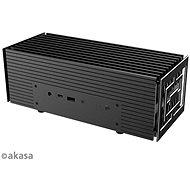 AKASA - Turing A50 hliníková skříňka pro ASUS® PN50 s procesory AMD Ryzen™ řady 4000 / A-NUC62-M1B - Počítačová skříň