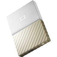 "WD 2.5"" My Passport Ultra Metal 1TB white/gold - External hard drive"