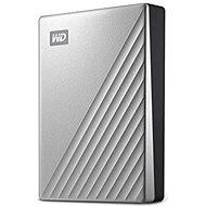 """WD 2.5"""" My Passport Ultra 4TB stříbrný - Externí disk"""