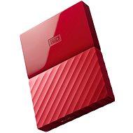"""WD 2.5"""" My Passport 1TB červený - Externí disk"""
