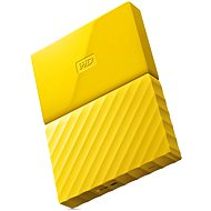 "WD 2.5"" My Passport 1TB Yellow - External hard drive"