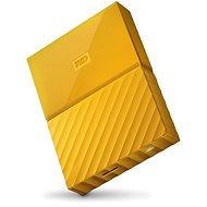 """WD 2.5"""" My Passport 2TB žlutý - Externí disk"""