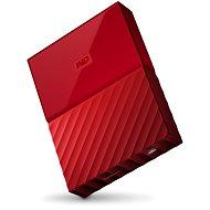 """WD 2.5"""" My Passport 4TB červený - Externí disk"""