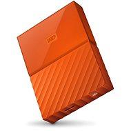 """WD 2.5"""" My Passport 4TB oranžový - Externí disk"""
