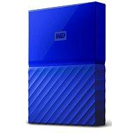 "WD 2.5"" My Passport 2TB modrý slim - Externí disk"