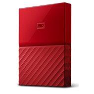 """WD 2.5"""" My Passport 2TB červený slim - Externí disk"""