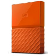 "WD 2.5"" My Passport 2TB orange slim - External hard drive"