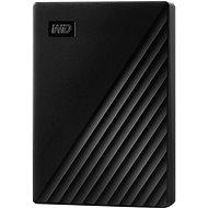 Externí disk WD My Passport 4TB, černý