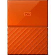 WD My Passport 1TB USB 3.0 oranžový - Externí disk