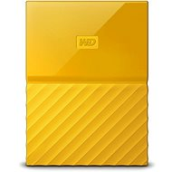 WD My Passport 1TB USB 3.0 žlutý - Externí disk