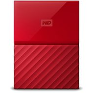 WD My Passport 2TB USB 3.0 červený