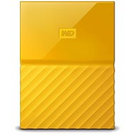 WD My Passport 2TB USB 3.0 žlutý - Externí disk