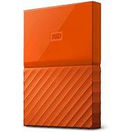 WD My Passport 4TB USB 3.0 oranžový - Externí disk
