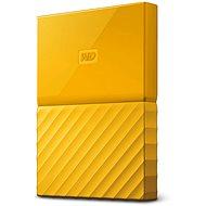 WD My Passport 4TB USB 3.0 žlutý