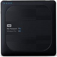 """WD 2.5"""" My Passport Wireless Pro 4TB černý - Datové úložiště"""