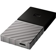 WD My Passport SSD 256GB Silver/Black - Externí disk