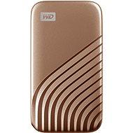 WD My Passport SSD 500GB Gold - Externí disk